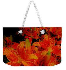 Spicey Tiger Lilies Weekender Tote Bag