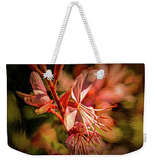 Weekender Tote Bag featuring the photograph Orange Tones #g4 by Leif Sohlman