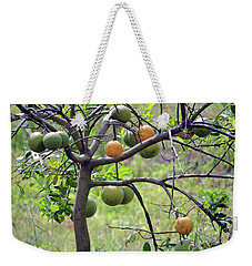 Orange Tree Weekender Tote Bag