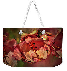 Weekender Tote Bag featuring the photograph Orange Trio #h5 by Leif Sohlman