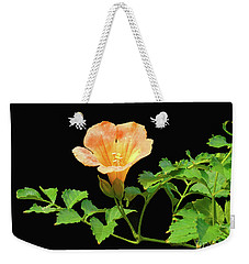 Orange Trumpet Flower Weekender Tote Bag