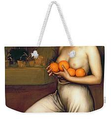 Oranges And Lemons Weekender Tote Bag by Julio Romero de Torres