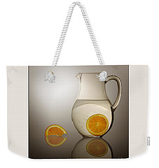 Oranges And Water Pitcher Weekender Tote Bag