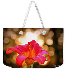 Weekender Tote Bag featuring the photograph Orbs All Around by Lydia Holly