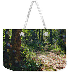 Orbs In The Woods Weekender Tote Bag