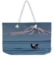Orca - Mt. Baker Weekender Tote Bag