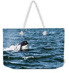 Orca Whale Weekender Tote Bag