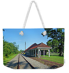 Orchard Park 1004 Weekender Tote Bag by Guy Whiteley