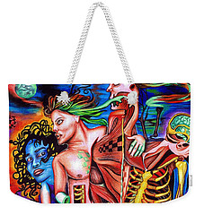 Orchestration Of Metaphysical Motion Weekender Tote Bag