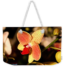Orchid 10 Weekender Tote Bag