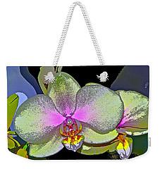 Orchid 2 Weekender Tote Bag by Pamela Cooper