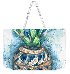 Orchid And Barnacle Weekender Tote Bag