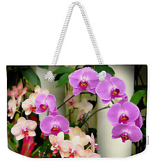 Orchid Beauties Weekender Tote Bag by Sue Melvin