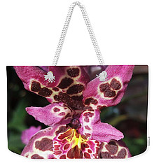 Orchid Beauty Weekender Tote Bag by Jasna Gopic