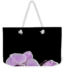 Orchid Blooms Weekender Tote Bag