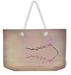 Orchid Blooms And Buds Weekender Tote Bag