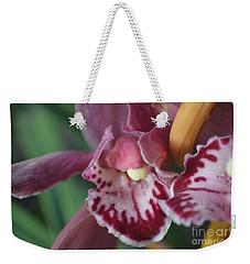 Orchid Charm Weekender Tote Bag