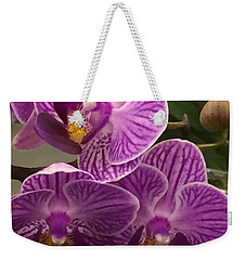 Orchid Delight Weekender Tote Bag