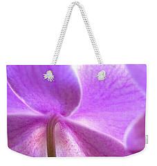 Orchid Weekender Tote Bag by George Robinson