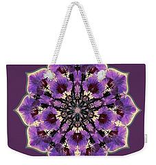 Orchid Lotus Weekender Tote Bag