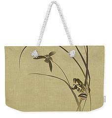 Orchid Sonata Weekender Tote Bag