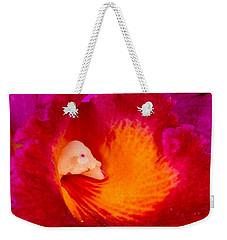Orchid Vortex 458 Weekender Tote Bag