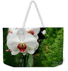 Orchid White Weekender Tote Bag