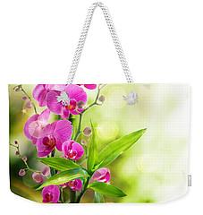 Orchidaceae Weekender Tote Bag
