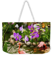 Orchids In Paradise Weekender Tote Bag