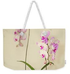 Orchids On Sideboard Weekender Tote Bag
