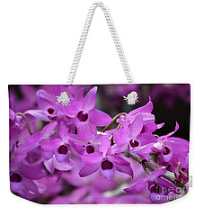 Orchids Paint Weekender Tote Bag
