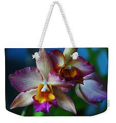 Orchids - Trio Weekender Tote Bag by Kerri Ligatich