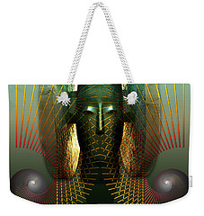 Order And Serenity Weekender Tote Bag by Rosa Cobos