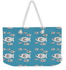 Orderly Formation - School Of Fish Weekender Tote Bag