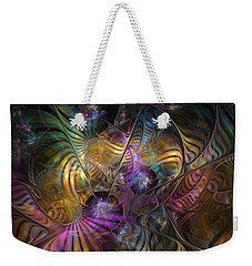 Weekender Tote Bag featuring the digital art Ordinary Instances by NirvanaBlues