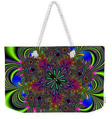 Weekender Tote Bag featuring the digital art Orditively by Andrew Kotlinski