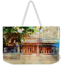 Weekender Tote Bag featuring the photograph Ordway Center by Susan Stone