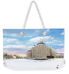 Orebro Castle Weekender Tote Bag by Marius Sipa