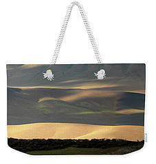 Weekender Tote Bag featuring the photograph Oregon Canyon Mountain Layers And Textures by Leland D Howard