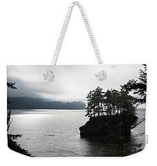 Oregon Coast Fog Weekender Tote Bag