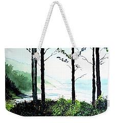 Oregon Coast Weekender Tote Bag by Tom Riggs