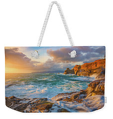 Weekender Tote Bag featuring the photograph Oregon Coast Wonder by Darren White