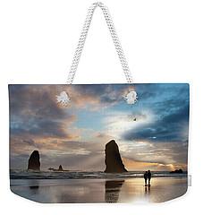 Oregon Coastine Weekender Tote Bag