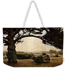 Oregon Coastline With Tree Weekender Tote Bag