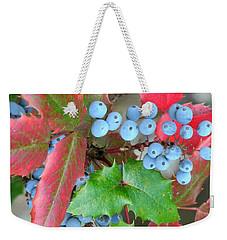 Oregon Grape Weekender Tote Bag