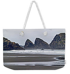 Oregon Tide Weekender Tote Bag