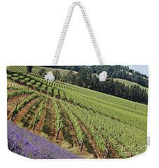 Oregon Vineyard Weekender Tote Bag
