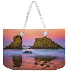 Weekender Tote Bag featuring the photograph Oregon's New Day by Darren White