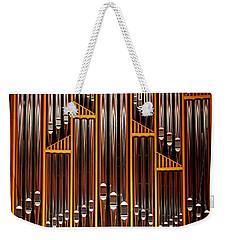 Organ Opus 76 - Philadelphia Weekender Tote Bag by Rona Black