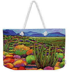 Organ Pipe Weekender Tote Bag